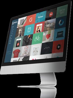 Fax simile di un sito web con filtro jquery per le categorie del portfolio con thumbnail (anteprima) che si ridistribuiscono automaticamentea seconda della grandezza dello schermo