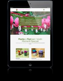 Realizzazione Creazione siti internet per iPad e tablet