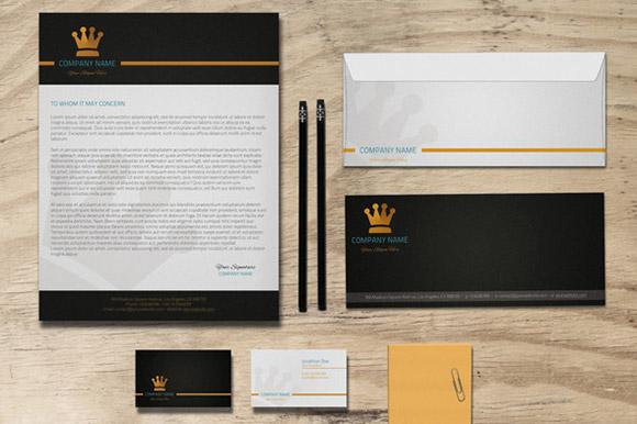 Esempio di vari formati coordinati per la Brand Identity