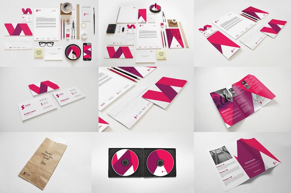 Un esempio completo di quello che è la creatività coordinata per la Brand Identity o la Corporate Identity
