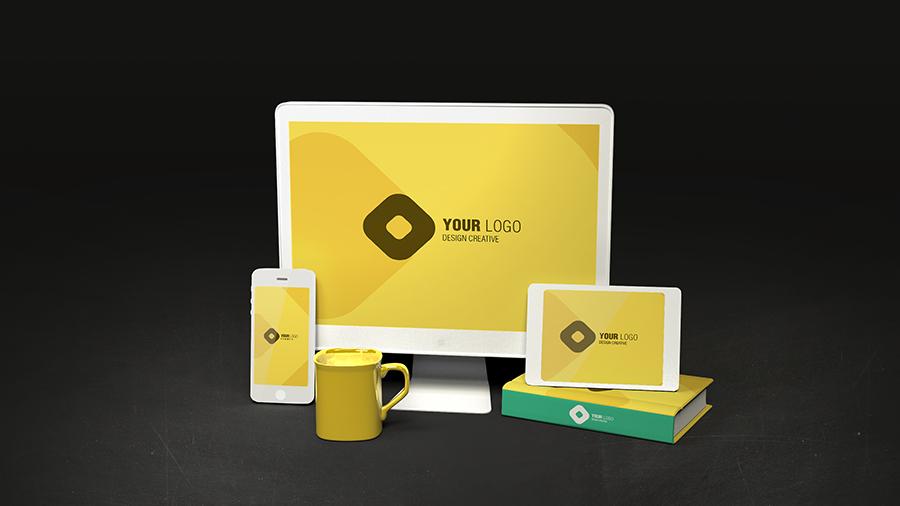 Sito internet responsive e gadget coordinati al Brand Aziendale