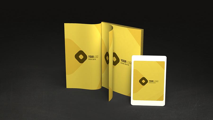 Le cromie coordinate al Brand anche per le pubblicazioni e le presentazioni aziendali
