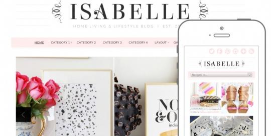 Tema Wordpress adatto come modello per un sito di moda o blog al femminile