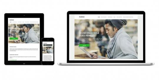 Responsive design per un sito web adatto a tutti gli schermi