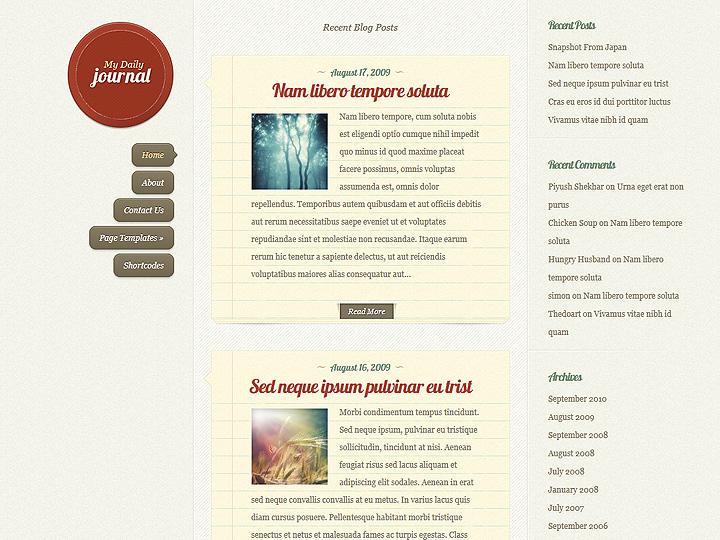 Blog in stile diario personale (on-line)