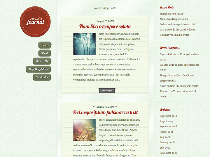 Blog in stile diario personale (on-line)