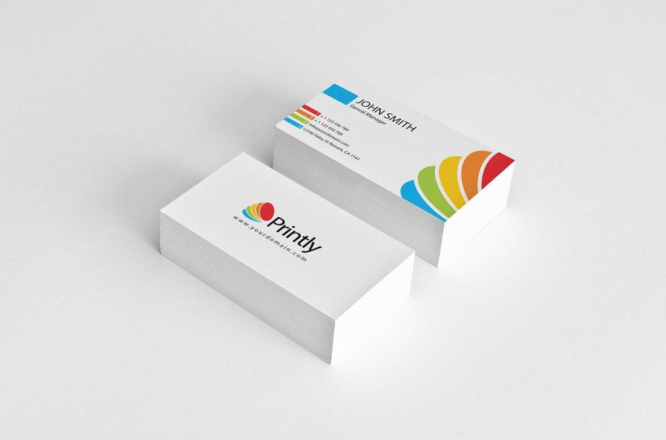 Cartellina, biglietti da visita, carta e busta intestata per Corporate Identity (2)