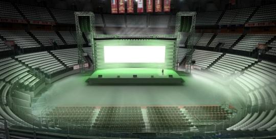 Evento Palasport Roma - Convention Aziendale