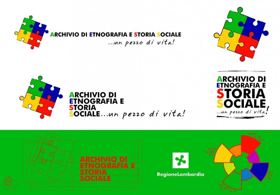 Lodo Design, progettazione del Logotipo per Archivio di Etnografia e Storia Sociale