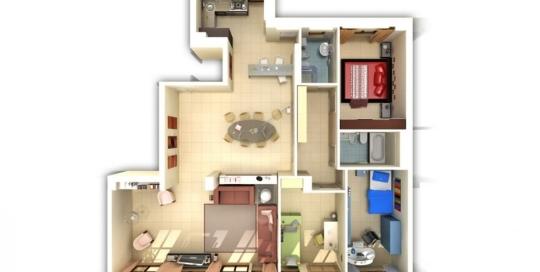 Modellazione 3D e rendering architettonici
