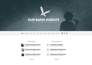 Sito internet per musicisti, gruppi e cantanti
