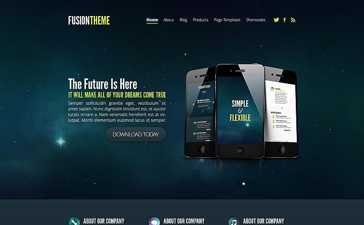 Sito web con Responsive Design per telefonini e tablet