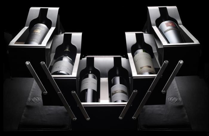 Visual design, foto e rappresentazioni curate di vini