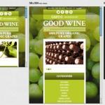 Esempio di sito web con responsive design