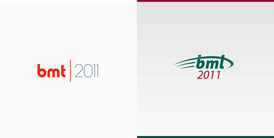 Variante preliminare logo design, Brand evento A