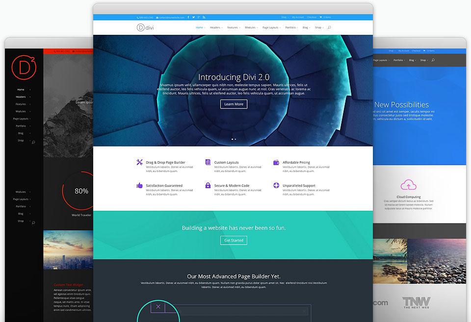 Divi, un'ottima piattaforma di sviluppo per siti WordPress