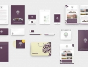 Grafica coordinata completa per la vostra immagine aziendale