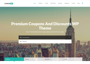 Tema Premium WordPress per siti stile Groupon