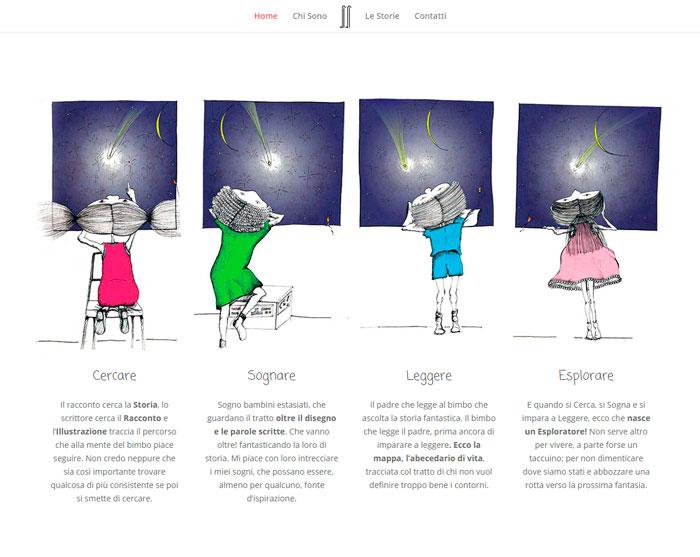 Sezioni immagini disegnate responsive design