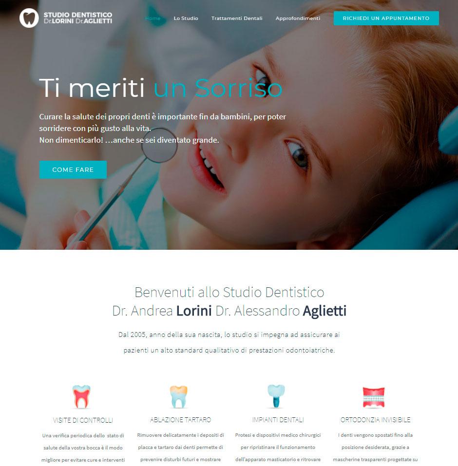 Sviluppo Siti web per dentisti e professionisti