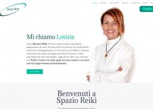 Anche il Reiki ha bisogno di Spazio… Web, home page del sito