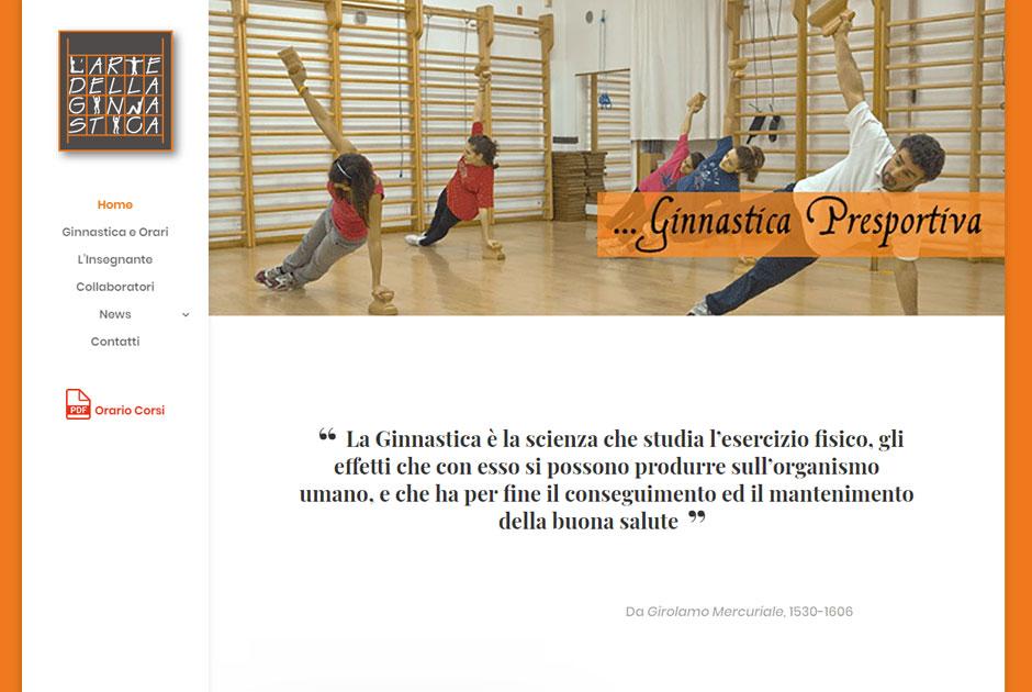 Un sito web per (fare) ginnastica?